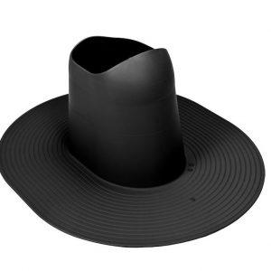 Проходной элемент для мягкой кровли высокий Huopa/Slate черный