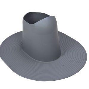 Проходной элемент для мягкой кровли высокий Huopa/Slate серый