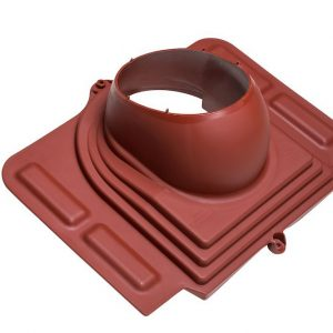 Проходной элемент для металлочерепицы Pelti красный