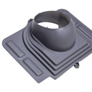 Проходной элемент для металлочерепицы Pelti серый