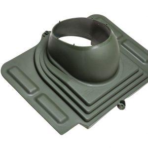 Проходной элемент для металлочерепицы Pelti зеленый