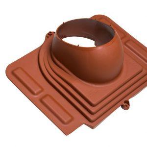 Проходной элемент для металлочерепицы Pelti кирпичный