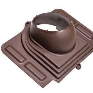 Проходной элемент для металлочерепицы Pelti коричневый