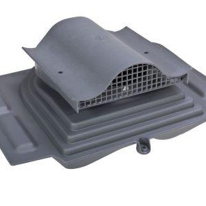 Кровельный вентиль для металлочерепицы (высокий профиль) Pelti - KTV серый