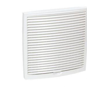 Наружная вентиляционная решетка 240х240 белый