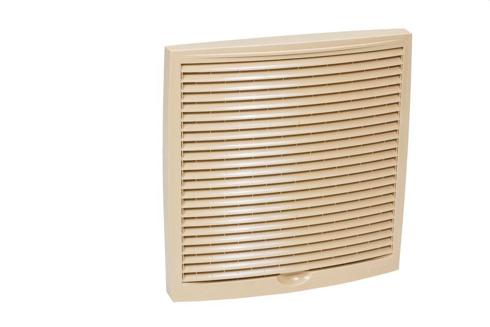 Наружная вентиляционная решетка 240х240 бежевый