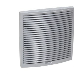 Наружная вентиляционная решетка 240х240 светло-серый