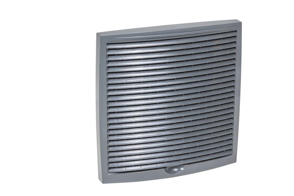 Наружная вентиляционная решетка 240х240 серый