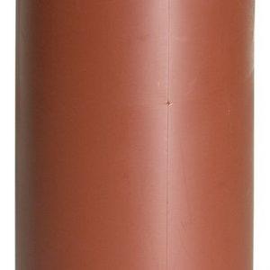 Изолирующий кожух для теплоизоляции вентиляцонного выхода - 110 мм красный