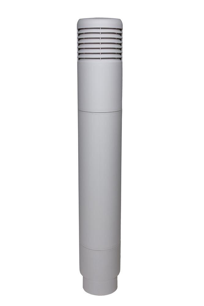 Ремонтный комплект для цокольного дефлектор ROSS - 125/110 светло-серый