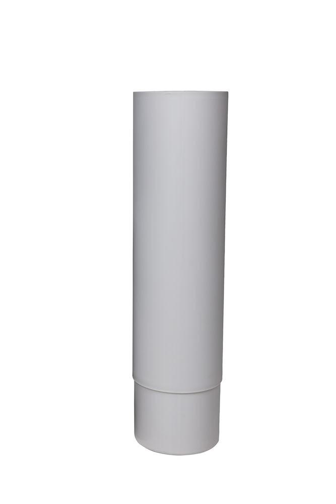 Удлинитель для цокольного дефлектора ROSS - 125 светло-серый