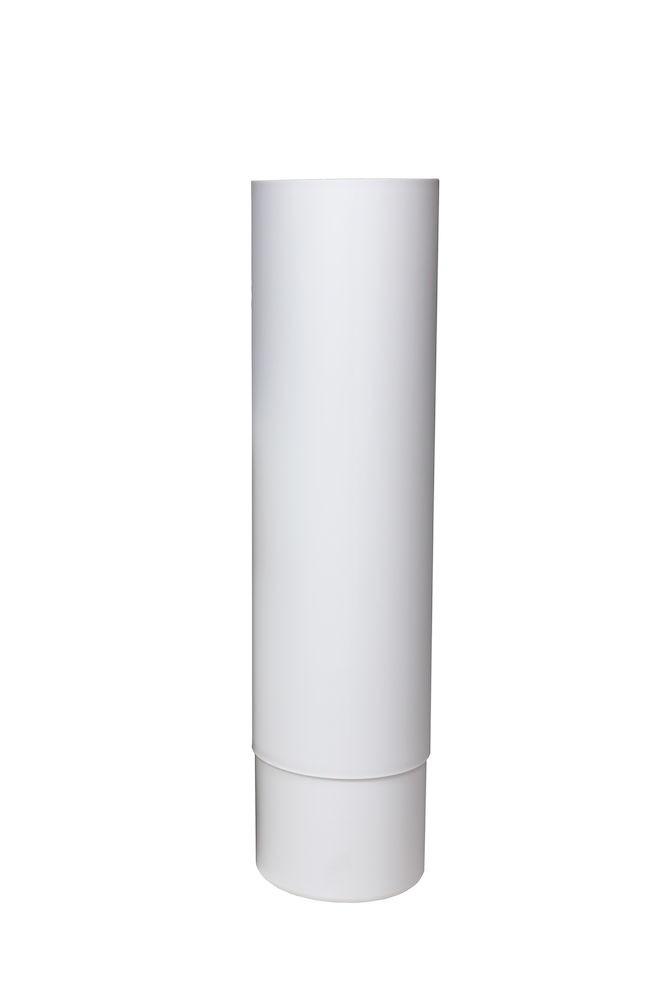 Удлинитель для цокольного дефлектора ROSS - 125 маляр.белый
