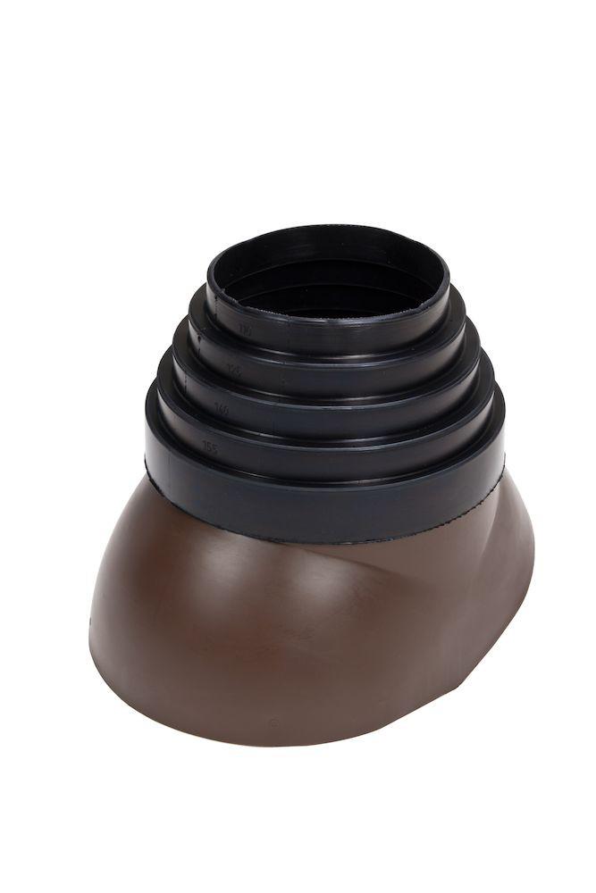 Антенный ворот EPDM-резина Ø110 - 155 коричневый