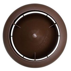 Вентиляционный выход 125/700 мм коричневый