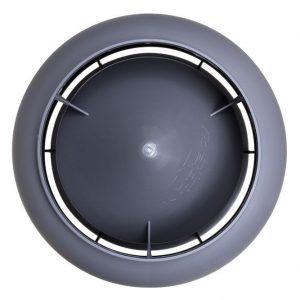 Вентиляционный выход 125/700 мм серый