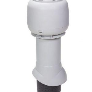 Вентиляционный выход 125/500 мм светло-серый