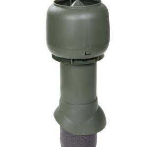 Вентиляционный выход 125/500 мм зеленый
