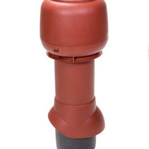 Вентиляционный выход 125/500 мм красный