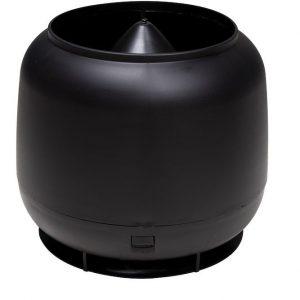 Колпак дефлектор для труб Vilpe 160 мм черный