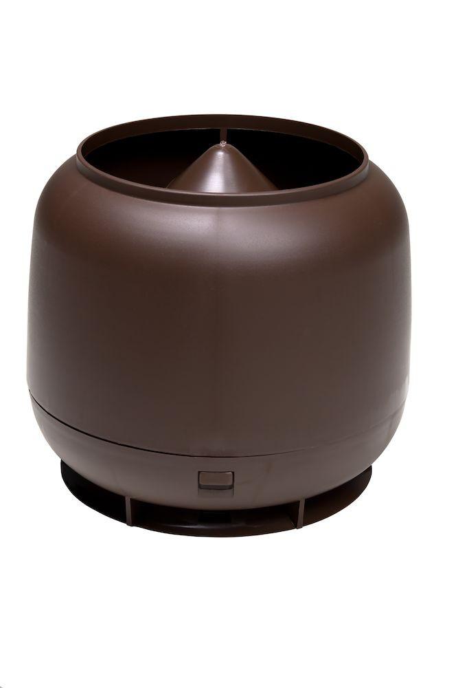 Колпак дефлектор для труб Vilpe 160 мм коричневый