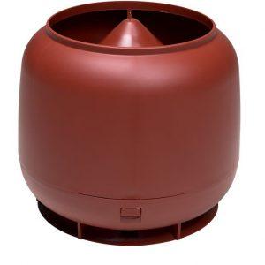Колпак дефлектор для труб Vilpe 160 мм красный