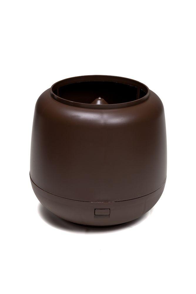 Колпак дефлектор для труб Vilpe 110 мм коричневый