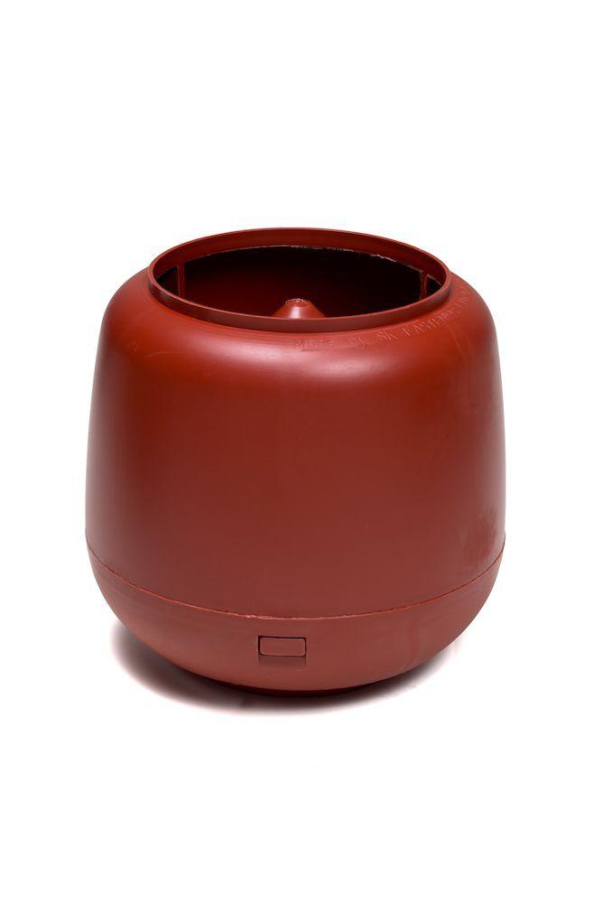 Колпак дефлектор для труб Vilpe 110 мм красный