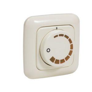 Регулятор вентилятора воздуховода 2299 UCJ  утопленный  белый