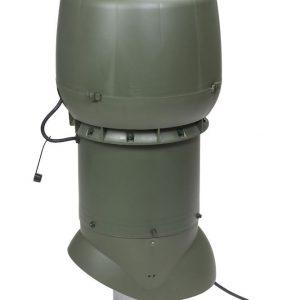 Вентилятор воздуховода XL E220 P /160/700  Р 0 - 800м3/ч  зеленый