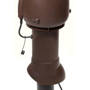 Вентилятор ECo110P/110/500  0 -600 м3/ч для биотуалетов и удаления радона коричневый