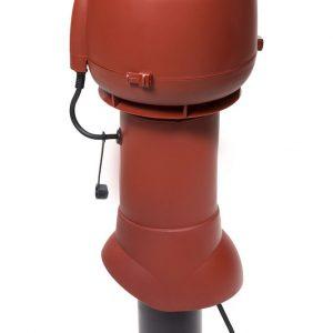 Вентилятор ECo110P/110/500  0 -600 м3/ч для биотуалетов и удаления радона красный