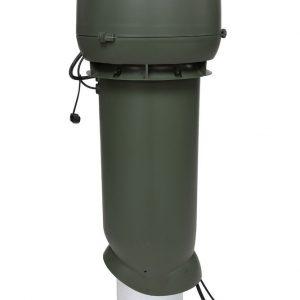 Вентилятор воздуховода 220Р/160/700  Р 0 - 1000м3/ч  зеленый