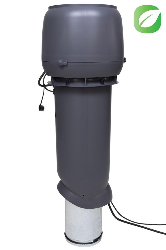 Вентилятор воздуховода 220Р/160/700  Р 0 - 1000м3/ч  серый
