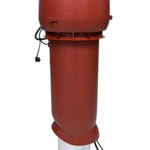 Вентилятор воздуховода 220Р/160/700  Р 0 - 1000м3/ч  красный