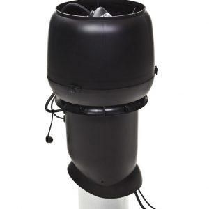 Вентилятор воздуховода 220Р/160/500  Р 0 - 1000м3/ч  черный