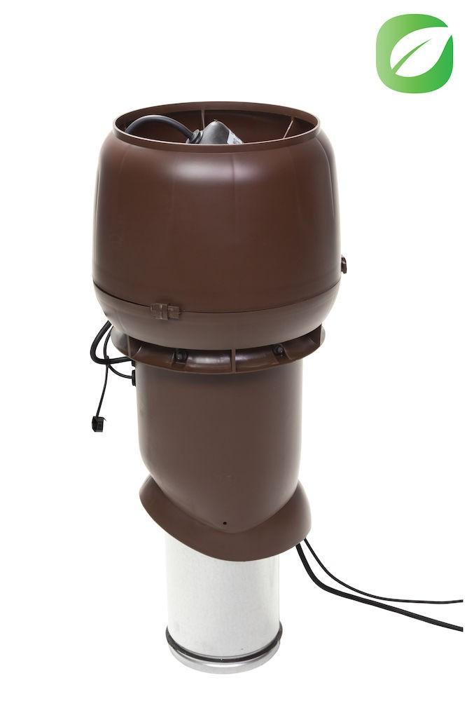 Вентилятор воздуховода 220Р/160/500  Р 0 - 1000м3/ч  коричневый