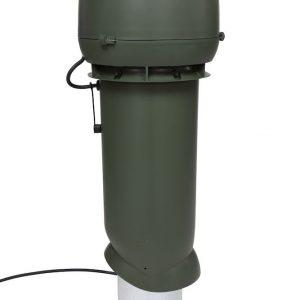 Вентилятор воздуховода E220 Р/ 160 / 700  Р 0 - 800м3/ч  зеленый