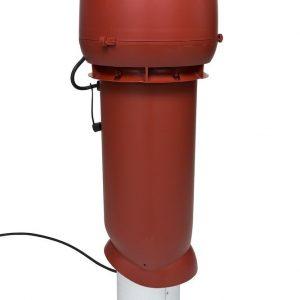 Вентилятор воздуховода E220 Р/ 160 / 700  Р 0 - 800м3/ч  красный