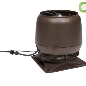 Вентилятор воздуховода ECo 220 S 0-1000м3/ч + основание коричневый
