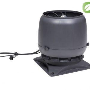Вентилятор воздуховода ECo 220 S 0-1000м3/ч + основание серый
