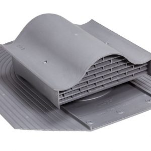 Кровельный вентиль для мягкой кровли Huopa - KTV серый