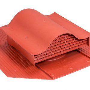 Кровельный вентиль для мягкой кровли Huopa - KTV красный