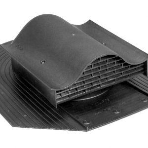 Кровельный вентиль для мягкой кровли Huopa - KTV черный