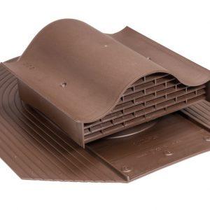 Кровельный вентиль для мягкой кровли Huopa - KTV коричневый
