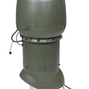 Вентилятор воздуховода XL ECo250P/200/700  Р 0 - 1250м3/ч  зеленый