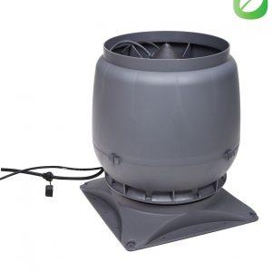 Вентилятор воздуховода ECo250S 0-1250м3/ч + основание серый