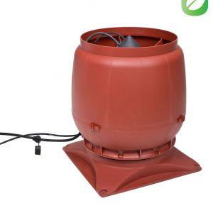 Вентилятор воздуховода ECo250S 0-1250м3/ч + основание красный