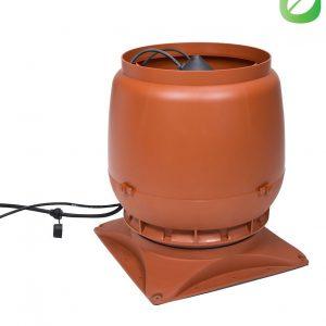 Вентилятор воздуховода ECo250S 0-1250м3/ч + основание кирпичный