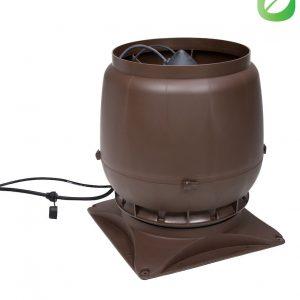 Вентилятор воздуховода ECo250S 0-1250м3/ч + основание коричневый
