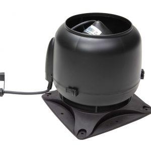 Вентилятор воздуховода E120S 0-400 м3/ч черный